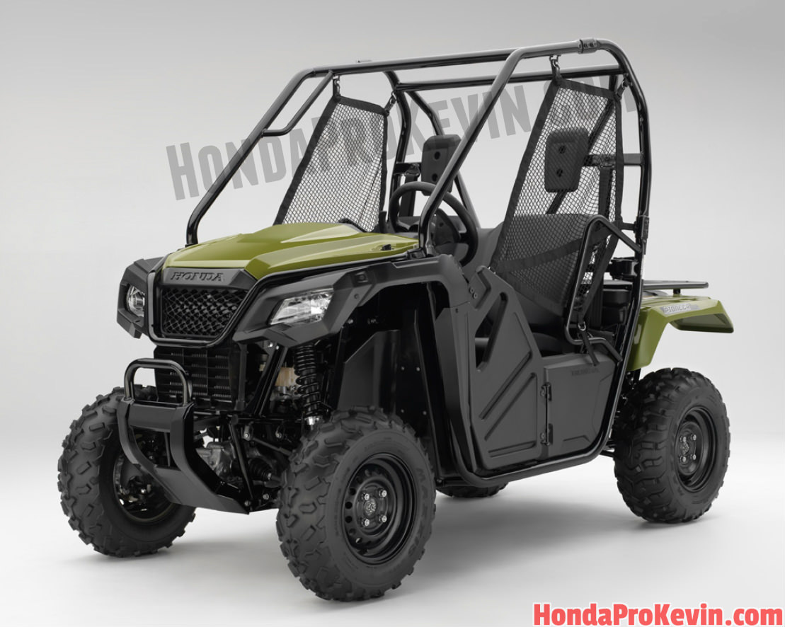 NEW 2017 Honda Pioneer 700 & 500 Review of Model Changes - Just Released!