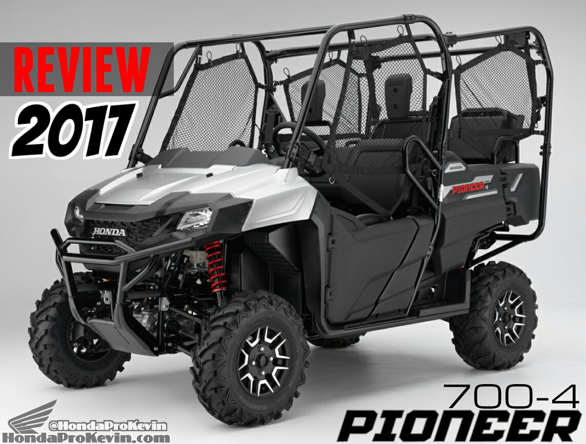 2017 Honda Pioneer 700-4 Deluxe Review / Specs - Side by Side ATV / UTV Horsepower, Prices, Accessories + More!