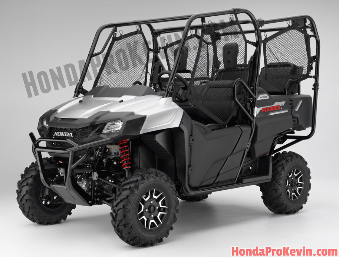 2017 Honda Pioneer 700-4 Deluxe Review / Specs - Side by Side ATV / UTV / SxS / Utility Vehicle