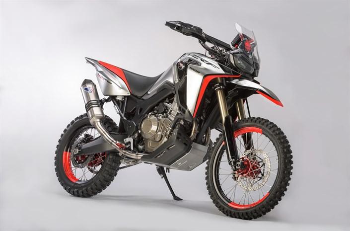 2017 Honda Africa Twin Enduro Sports Concept Motorcycle / Bike - CRF1000L Adventure 1000