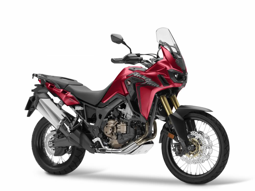 2017 Honda Africa Twin CRF1000L Review of Specs / Changes - Adventure Motorcycle - CRF 1000 L