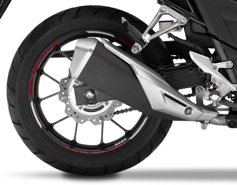 2017 Honda CB500X Exhaust / Muffler - Review / Specs - Adventure Motorcycle / Touring Bike - CB 500 X