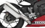 2017 Honda CBR1000RR Exhaust Review / Specs - CBR 1000 RR Horsepower, Torque, Performance Info, Frame, Suspension - SuperBike CBR1000 / 1000RR