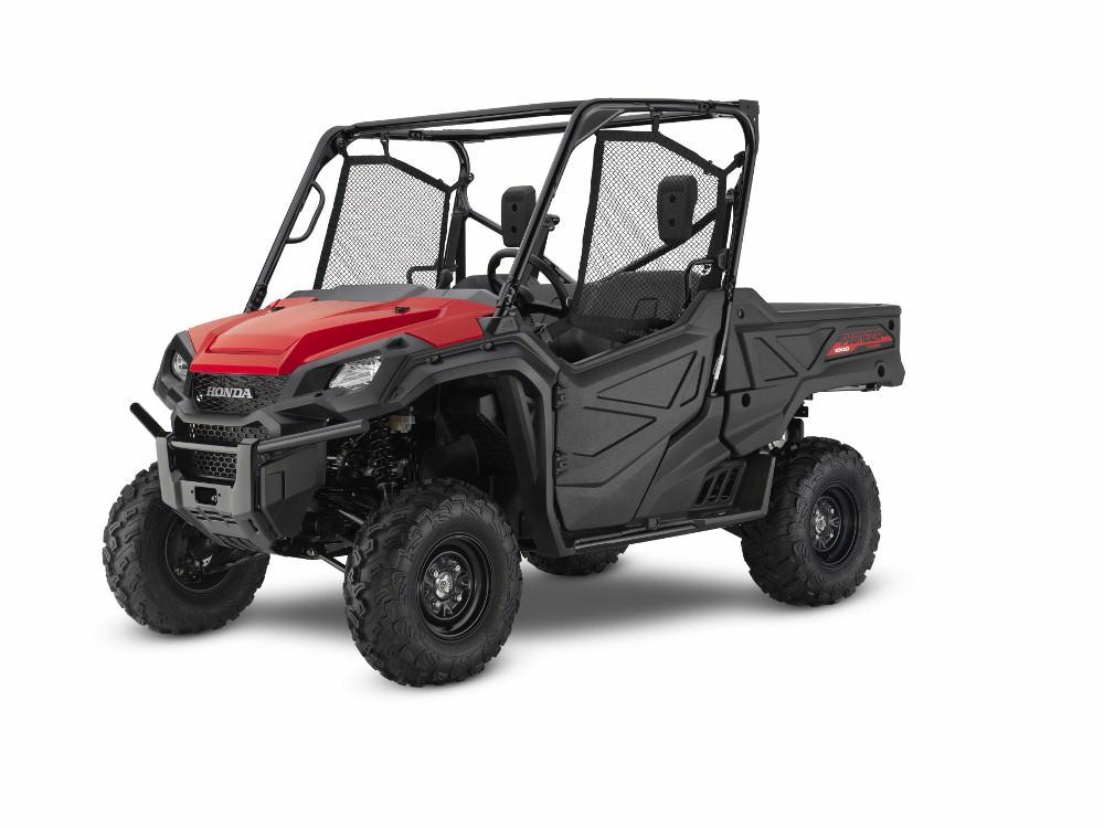 2017 Honda Pioneer 1000 | Red