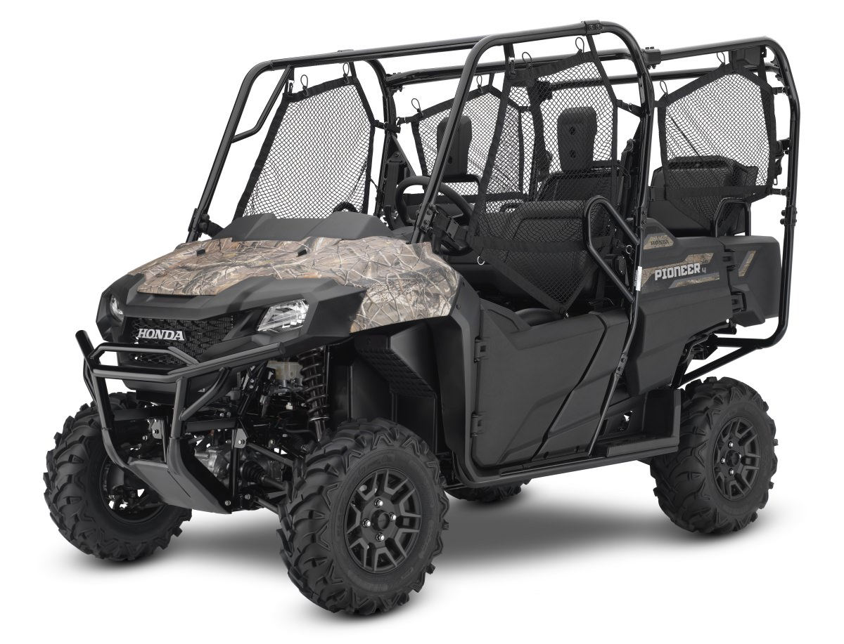 2018 Honda Pioneer 700-4 Deluxe Phantom Camo - Side by Side ATV / UTV / SxS / Utility Vehicle