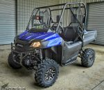 2017 Honda Pioneer 700 Deluxe Review / Specs - Side by Side ATV / UTV / SxS Utility Vehicle 4x4 - Diver Blue SXS700 / SXS700M2