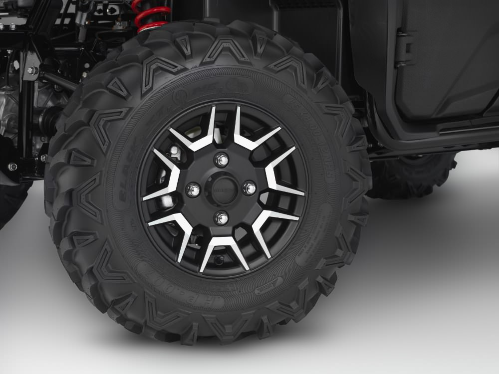 New 2018 Honda Pioneer 700-4 Deluxe Wheels & Tires