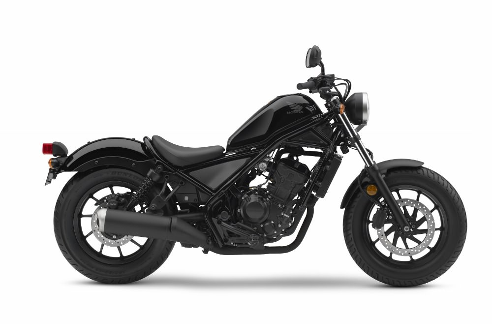 2017 Honda Rebel 300 ABS Review / Specs - New Cruiser Motorcycle Model