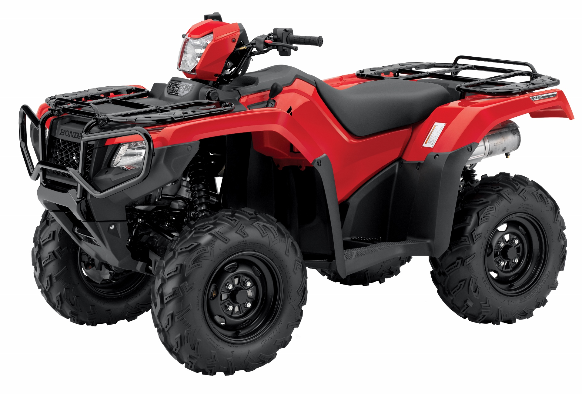 2018 Honda Rubicon DCT / EPS ATV Review of Specs - TRX500FA6