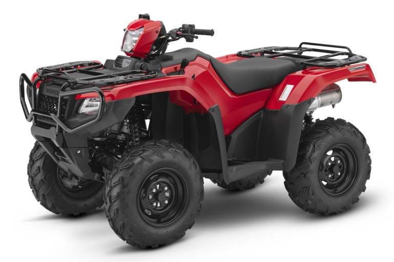 2018 Honda Rubicon DCT ATV Review of Specs - TRX500FA5