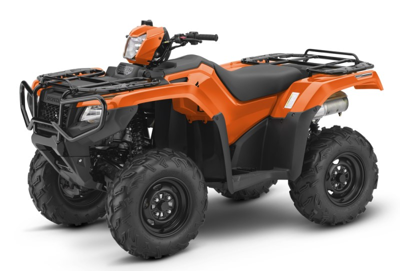 2018 Honda Rubicon EPS ATV Review of Specs - TRX500FM6