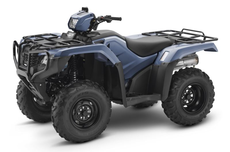2018 Honda Foreman 500 ATV Review of Specs - TRX500FM1J Shale Blue