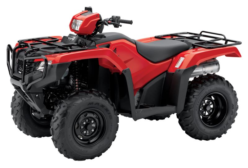 2018 Honda Foreman ES / EPS ATV Review of Specs - TRX500FE2J Red