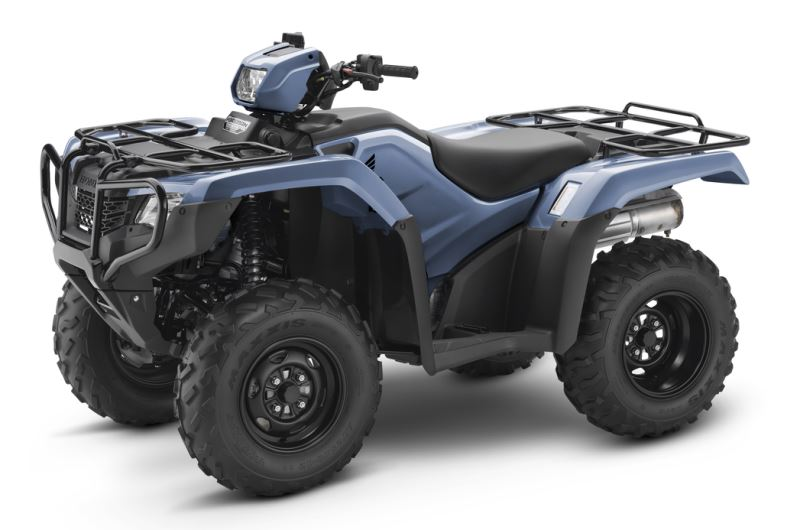 2018 Honda Foreman ES / EPS ATV Review of Specs - TRX500FE2J Shale Blue
