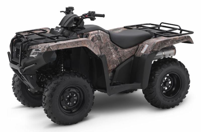 2018 Honda Rancher DCT EPS 420 4x4 ATV Review of Specs - TRX420FA2J Phantom Camo