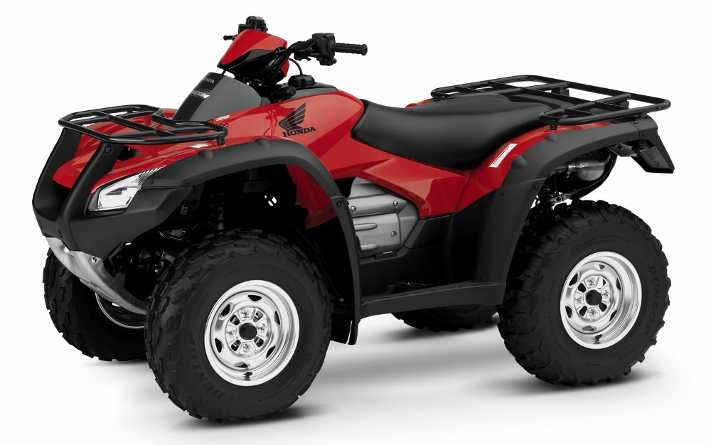 2018 Honda Rincon 680 ATV Review of Specs - TRX680FA