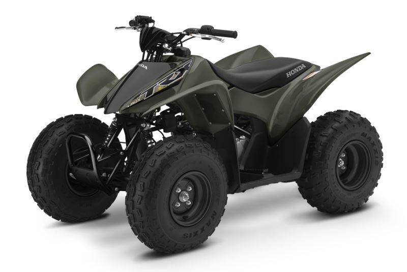 2018 Honda TRX90X Kids ATV Review / Specs - Youth Four-Wheeler Quad