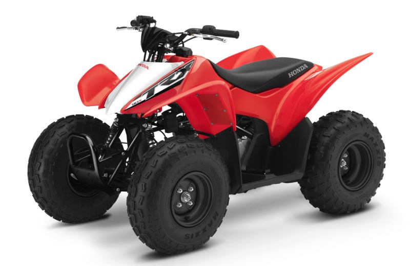 2018 Honda TRX90X Kids ATV Review / Specs - Youth Four-Wheeler Quad