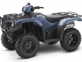 2018 Honda Foreman 500 ATV Review of Specs - TRX500FM1J Shale Blue