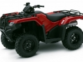 2018 Honda Rancher 420 4x4 ATV Review of Specs - TRX420FM1J Red