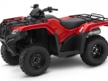 2018 Honda Rancher DCT EPS 420 4x4 ATV Review of Specs - TRX420FA2J Red