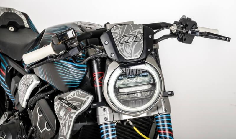 New Custom Honda Cb1000r Neo Daemon Neo Sports Caf 233