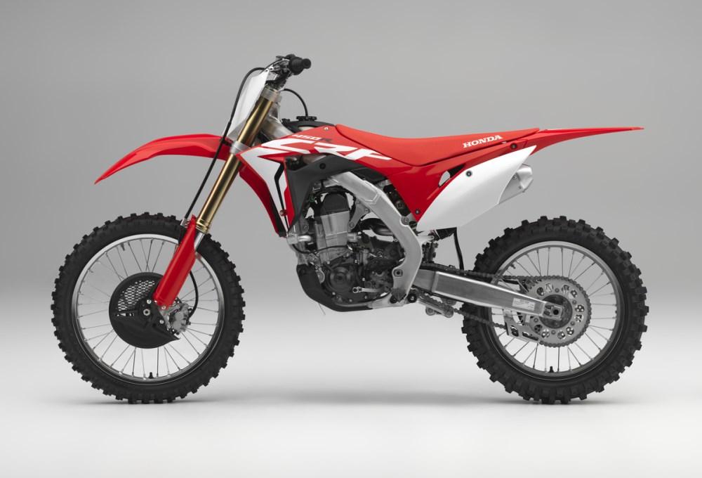 2018 Honda CRF450R Review / Specs - Changes, Price, HP - CRF 450 Motocross Dirt / Race Bike