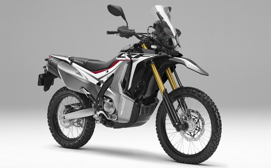 New 2018 Honda CRF250 Rally Sneak Peek... | EICMA Motorcycle News