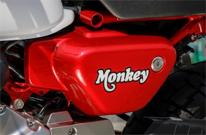 2018 Honda Monkey Review of Specs & Features | Motorcycle / Mini Bike - 49cc (50cc)