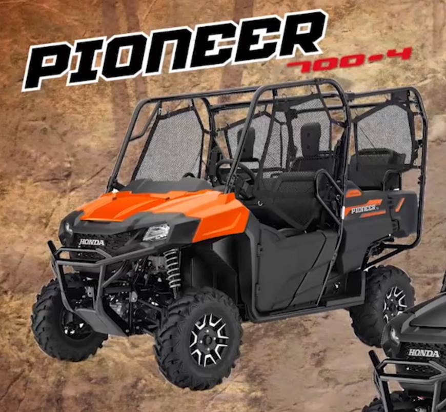 2018 Honda Pioneer 700-4 Deluxe Review / Specs - Price, Colors, Changes, Horsepower & Torque