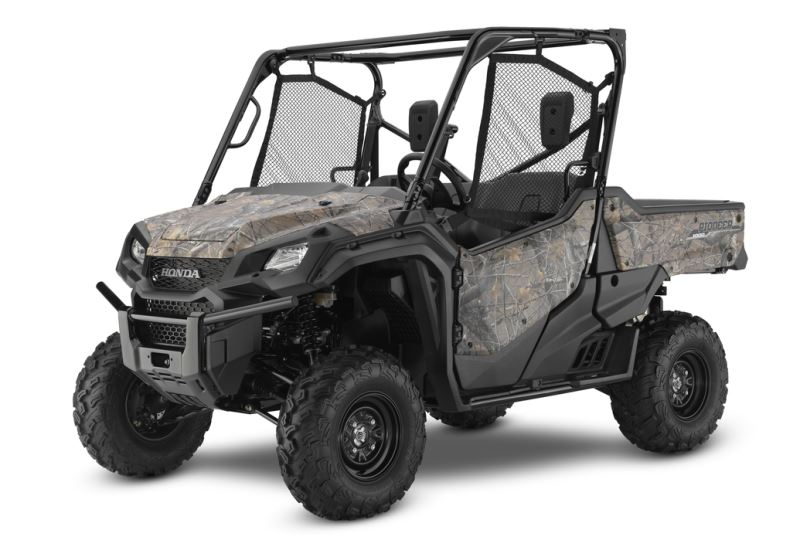 2018 Honda Pioneer 1000 EPS Review / Specs - 3-Seater Side by Side / UTV / SxS Utility Vehicle (SXS10M3P / SXS10M3PJ)