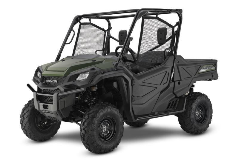 2018 Honda Pioneer 1000 Review / Specs - 3-Seater Side by Side / UTV / SxS Utility Vehicle (SXS10M3 / SXS10M3J)