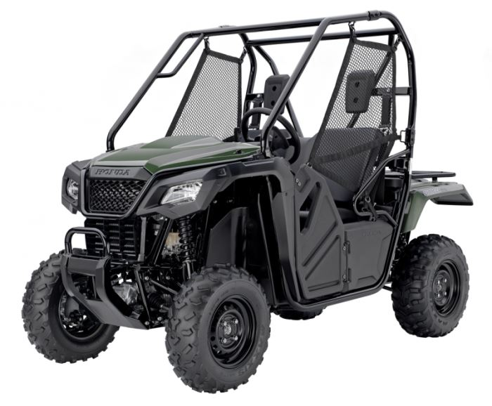 "2018 Honda Pioneer 500 Review / Specs - 50"" 2-Seater Side by Side / UTV / SxS Utility Vehicle (SXS500 / SXS500M2J)"
