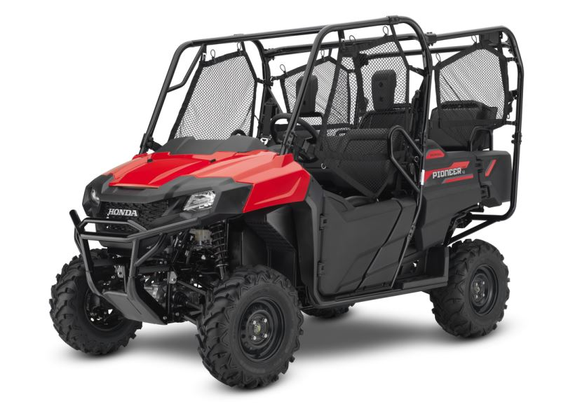 2018 Honda Pioneer 700-4 Review / Specs - 4-Seater Side by Side / UTV / SxS Utility Vehicle (SXS700M4 / SXS700M4J)