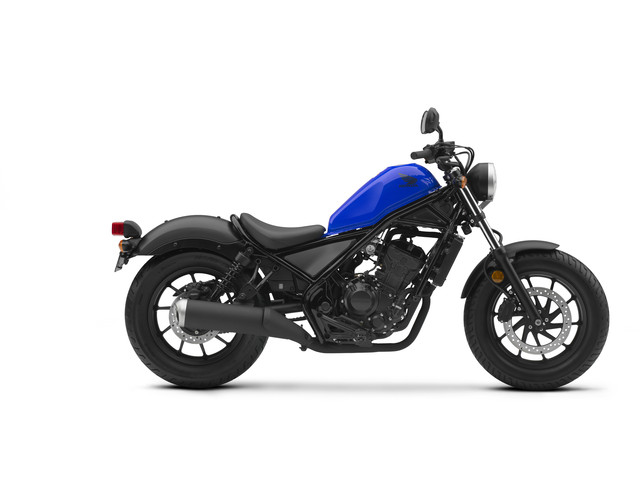 2018 Honda Rebel 300 Review / Specs (CMX300) Motorcycle | Cruiser (Blue)