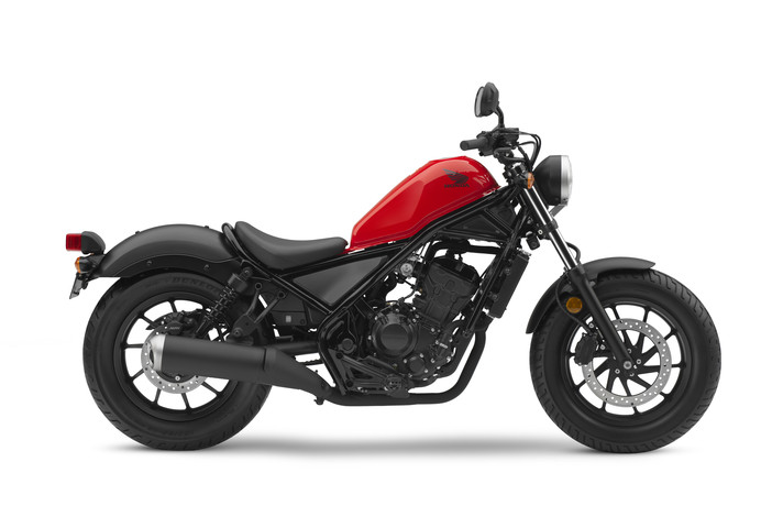 2018 Honda Rebel 300 Review / Specs (CMX300) Motorcycle | Cruiser (Red)