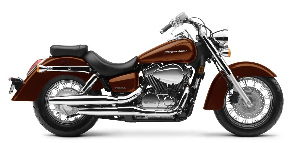 2018 Honda Shadow Aero Motorcycle Review / Specs & Buyer's Guide | Pearl Stallion Brown VT750C