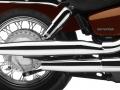 2018 Honda Shadow Aero 750 Exhaust Review   Cruiser / Motorcycle Specs
