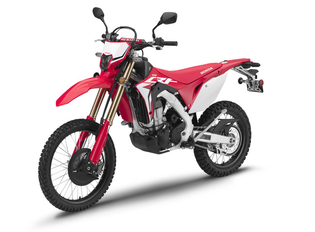 All-New 2019 Honda CRF450L Dual-Sport Motorcycle Review / Specs & Features