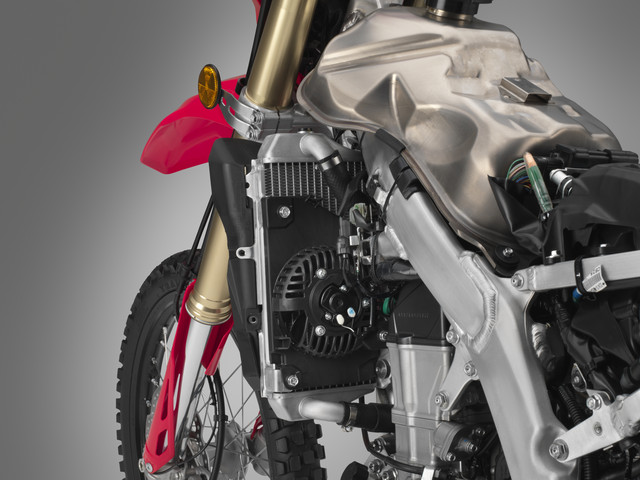 2019 Honda CRF450L Frame / Chassis & Suspension Review