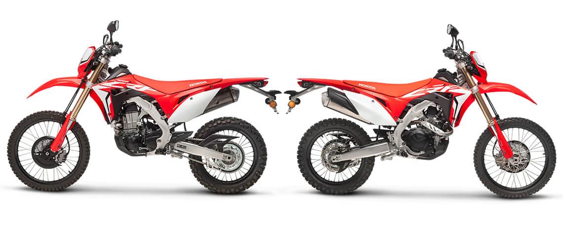 2019 Honda CRF450L Dual-Sport Motorcycle / Enduro Bike Review & Specs | CRF 450 L