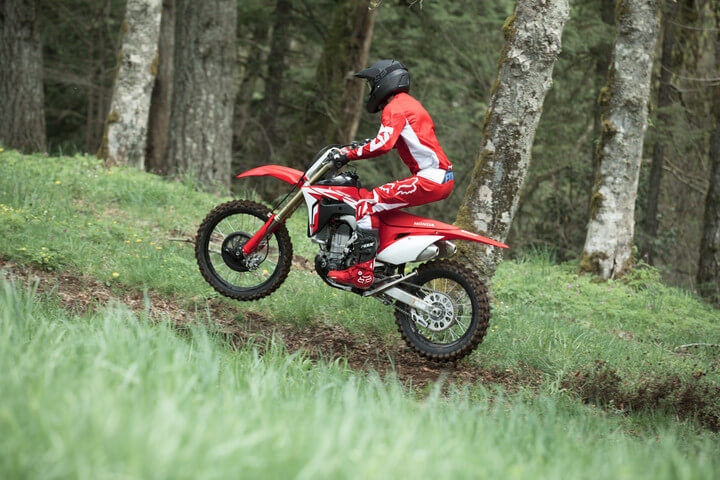2019 Honda CRF450RX Ride | Review / Specs | Dirt Bike Buyer's Guide: Price, Changes, HP & TQ Performance Info + More! | Off-Road Motorcycle News