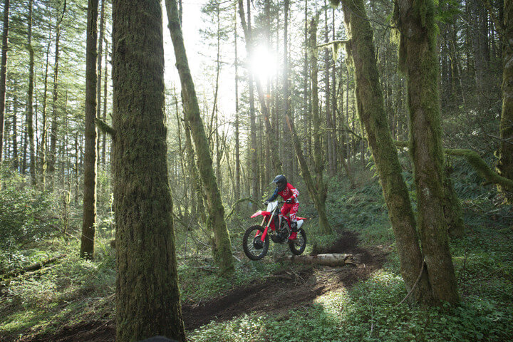 2019 Honda CRF450RX Ride | Review / Specs | Dirt Bike Buyer\'s Guide: Price, Changes, HP & TQ Performance Info + More! | Off-Road Motorcycle News