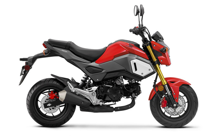 2019 Honda Grom Review / Specs + NEW Changes! | 125 cc Mini ... on