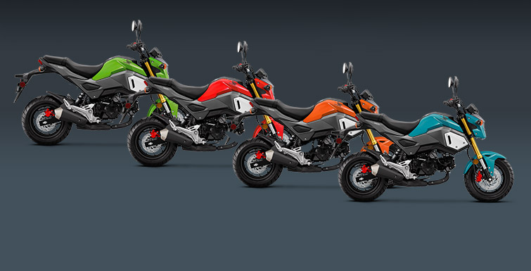 New 2019 Honda Grom Motorcycles / Color Options