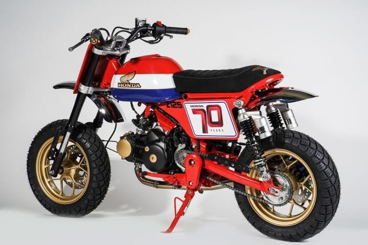 Custom 2019 Honda Monkey 125 Tracker Mini Bike Motorcycle Build