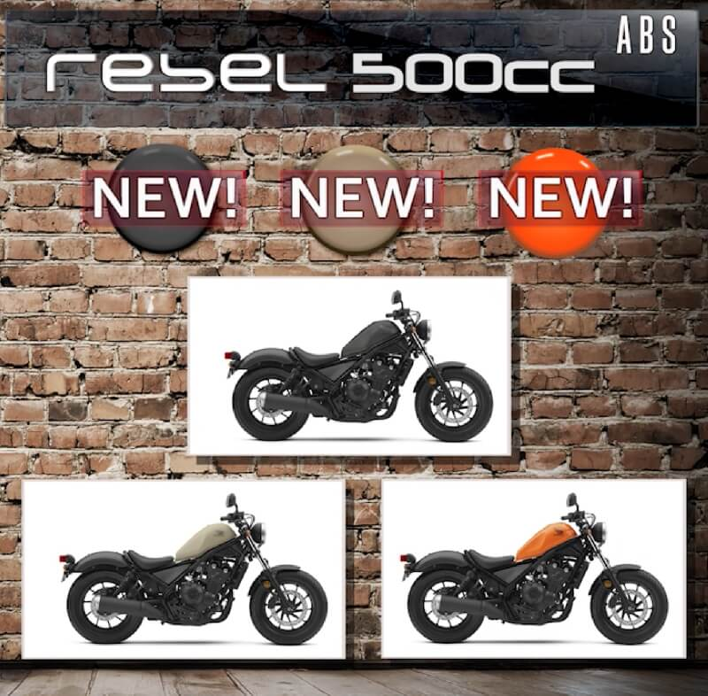 2019 Honda Rebel 500 | Price, Release Date, Colors + More! | Cruiser / Motorcycle