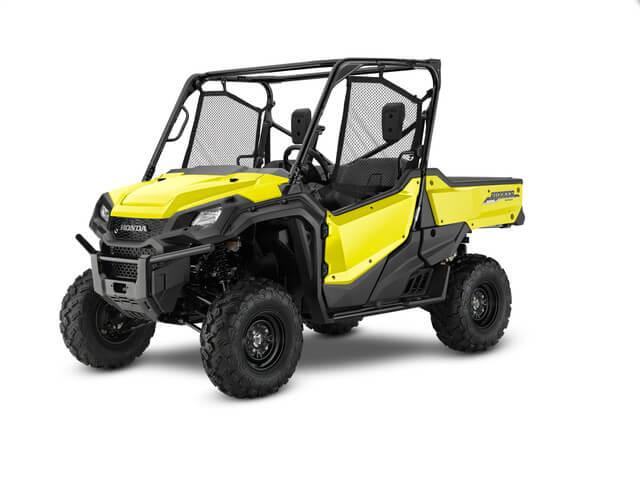 2019 Honda Pioneer 1000 EPS | Active Yellow