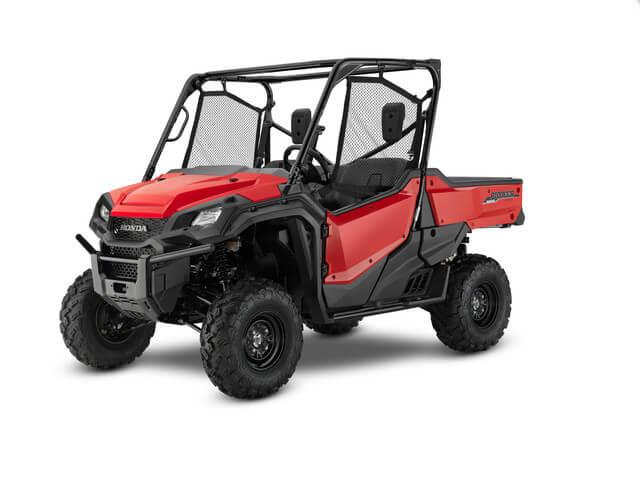 2019 Honda Pioneer 1000 EPS | Red