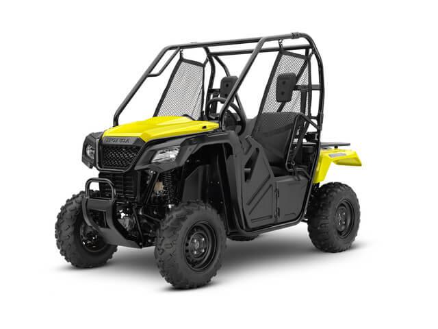 2019 Honda Pioneer 500 | Yellow